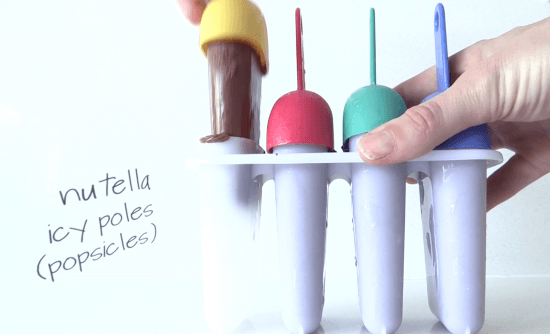 nutella popsicles recipe ann reardon