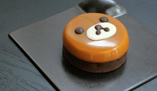 rilakkuma bear dessert ann reardon