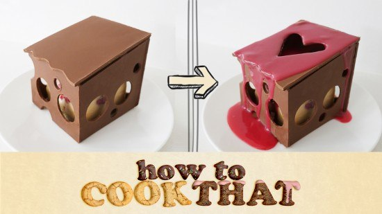heart chocolate box ann reardon how to cook that