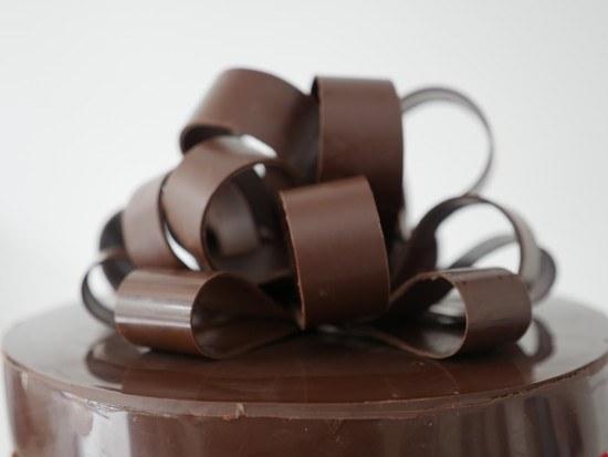 how to make a chocolate bow ann reardon