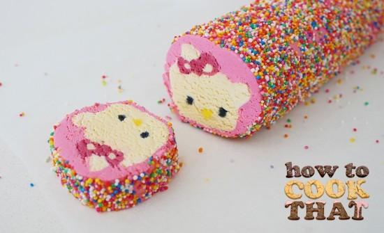 Hello Kitty Chocolate Cake
