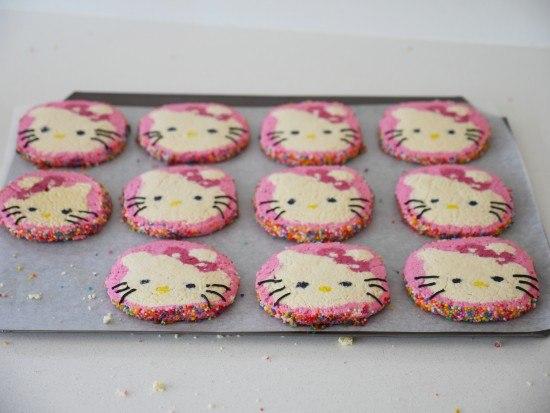 hello kitty cookie recipe ann reardon how to cook that