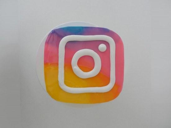 new instagram logo cake