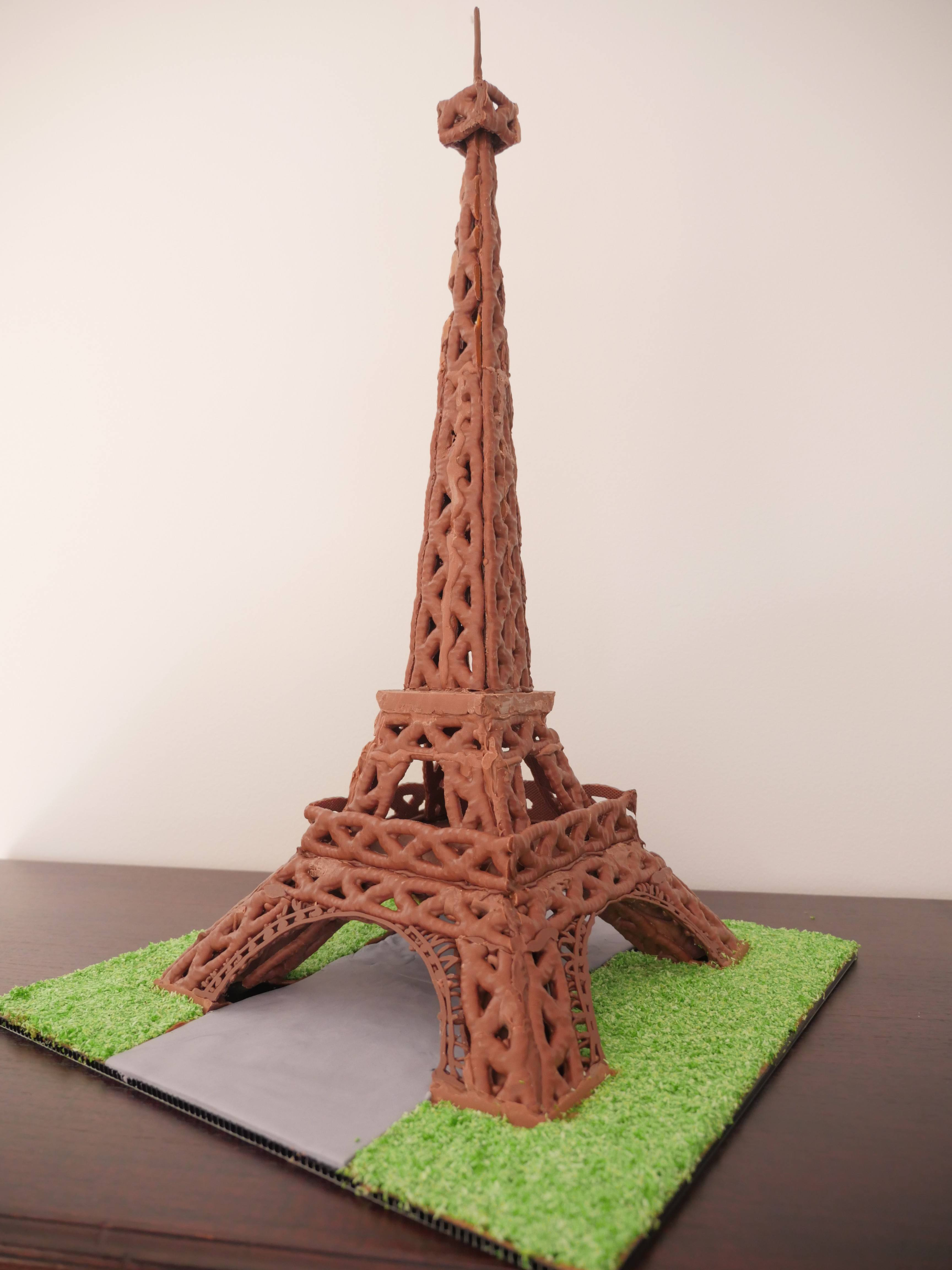howtocookthat cakes dessert chocolate chocolate eiffel tower