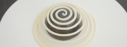 chocolate spiral dessert recipe ann reardon