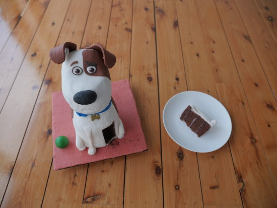 Howtocookthat Cakes Dessert Chocolate Secret Life Of Pets Dog Cake Howtocookthat Cakes Dessert Chocolate
