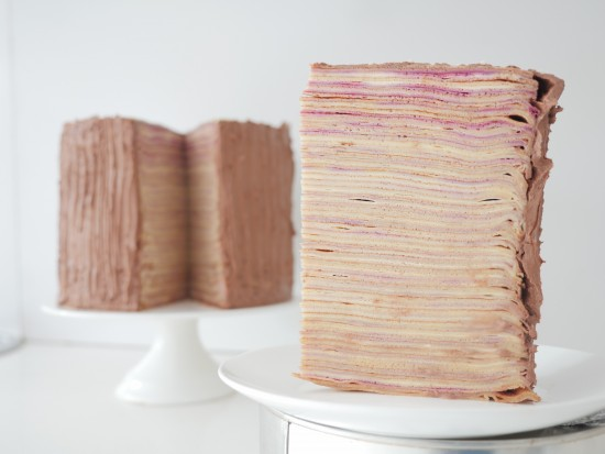 Layered Crepe Cake Recipes: HowToCookThat : Cakes, Dessert & Chocolate