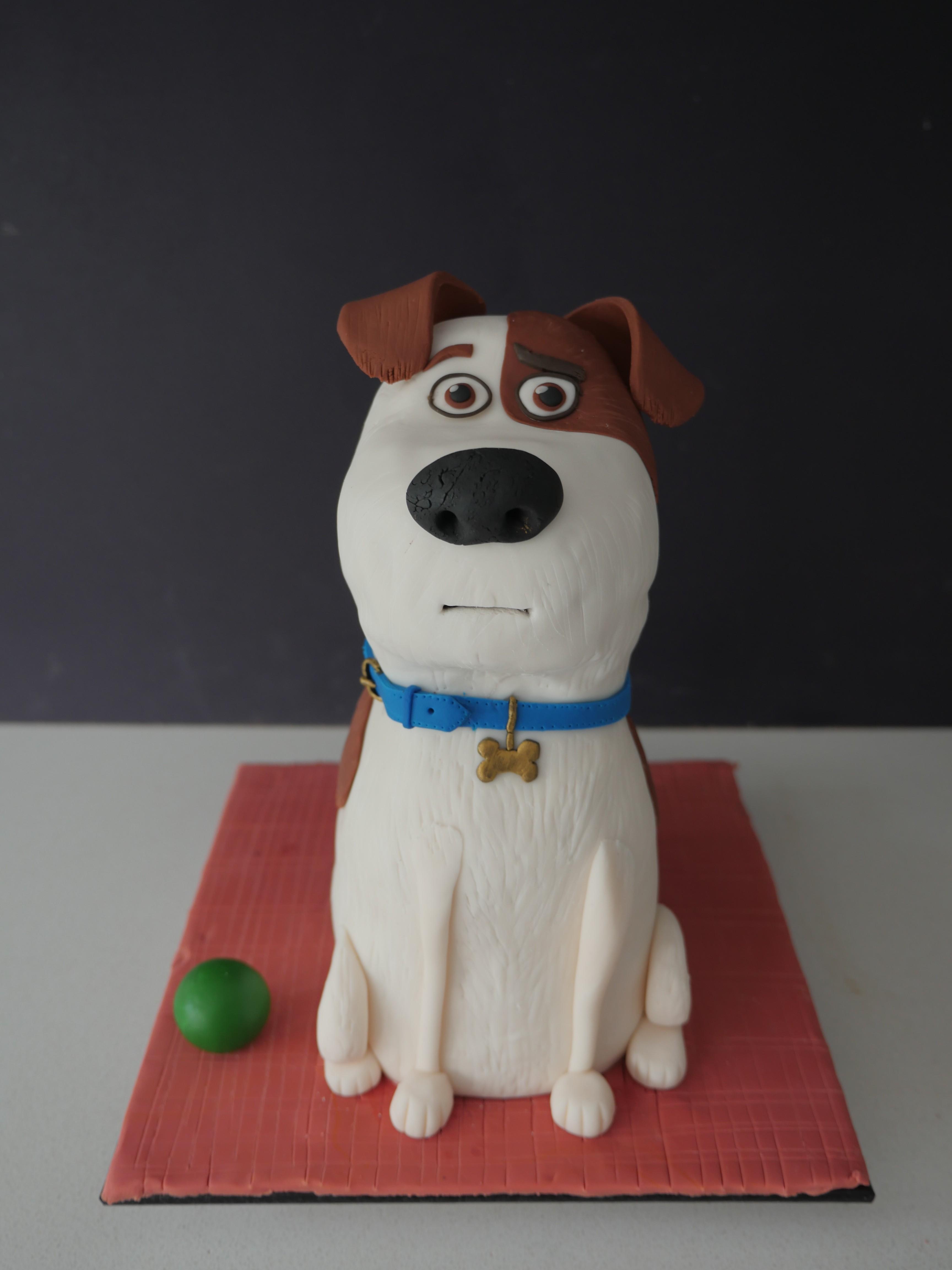 Dog Cake Template