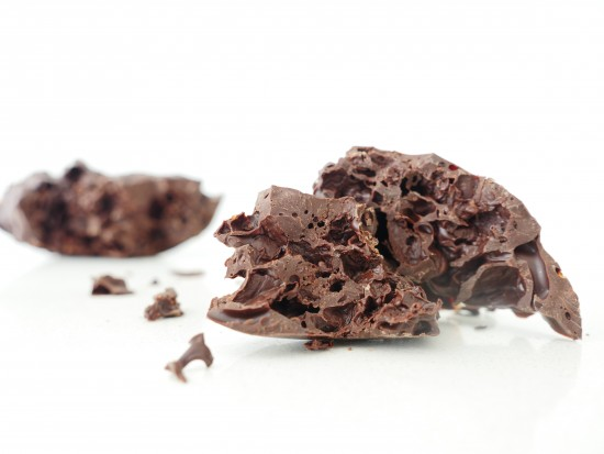 how to make bubbly chocolate