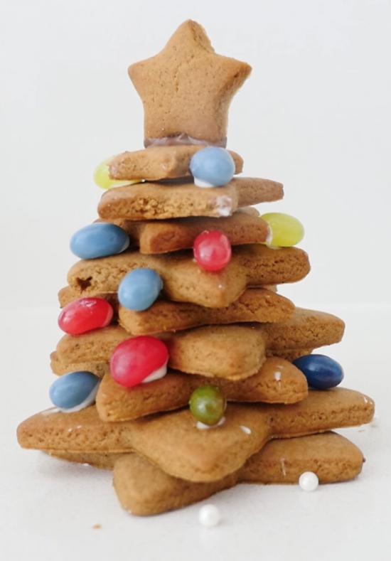 gingerbread christmas tree ann reardon