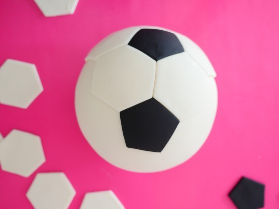 photograph about Soccer Ball Template Printable called HowToCookThat : Cakes, Dessert Chocolate Football Ball