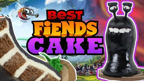 best fiends cake ann reardon