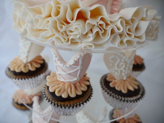 pretty ballet cake how to