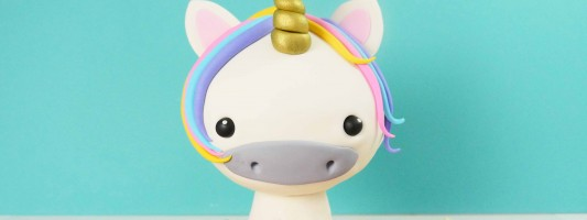 3D unicorn cake tutorial