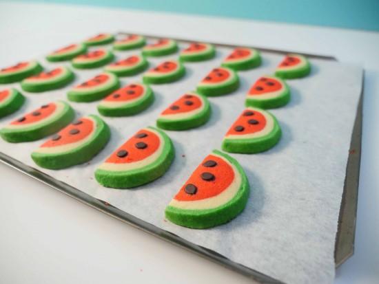 watermelon cookie recipe ann reardon