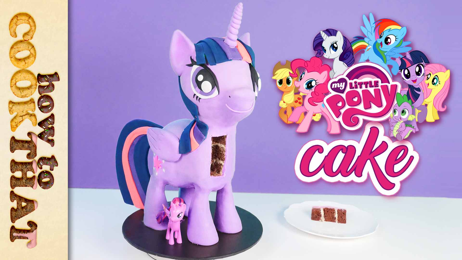 HowToCookThat : Cakes, Dessert & Chocolate | My Little Pony 3D ...