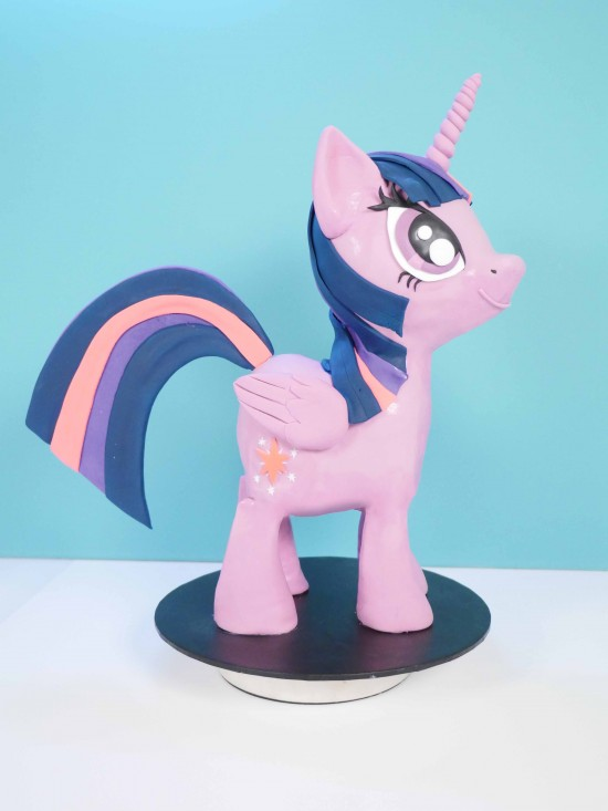 princess twighlight sparkle cake