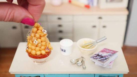miniature baking 1/12 scale food