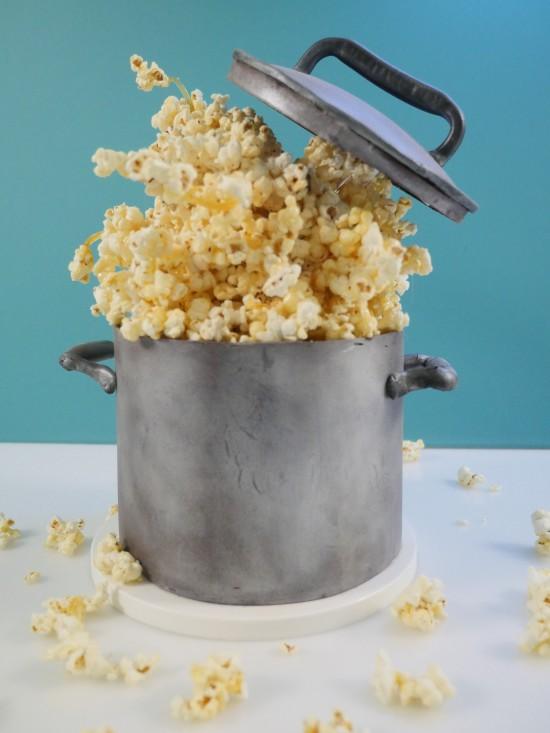 gravity defying popcorn cake ann reardon