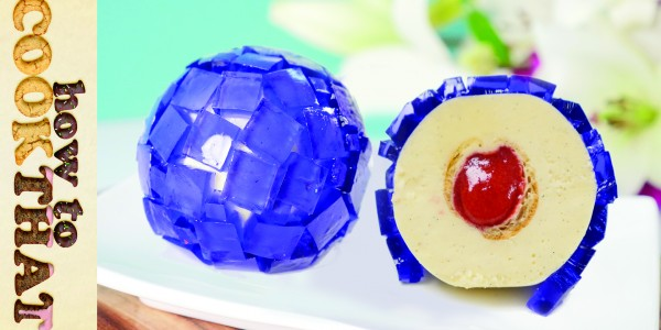 Pretty Purple Dessert