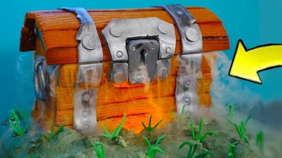 bornite cake treasure chest