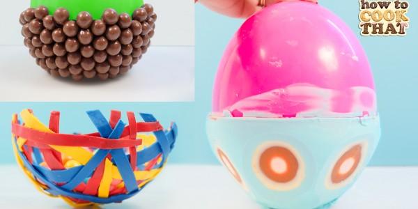 chocolate balloon bowls