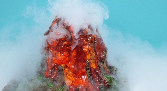 volcano cake idea how to
