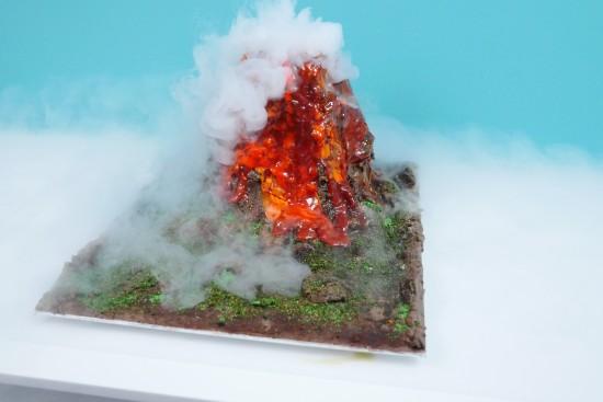 erupting volcano experiment howtocookthat
