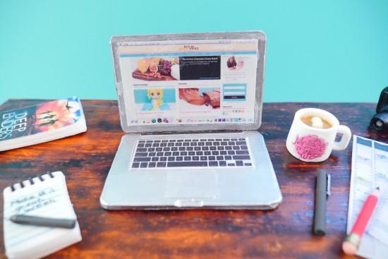 chocolate laptop desk cake tutorial