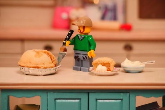 miniature apple pie