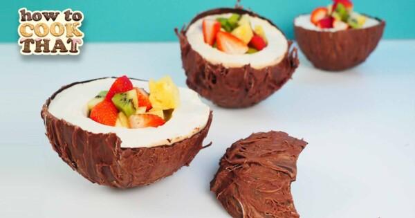 Coconut Dessert Recipe - HowToCookThat : Cakes, Dessert & Chocolate