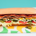 subway sandwich cake