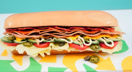 How To Make A Subway Sandwich Cake