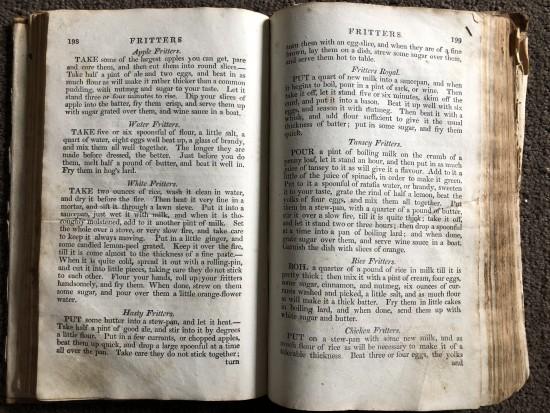 1800's dessert recipe
