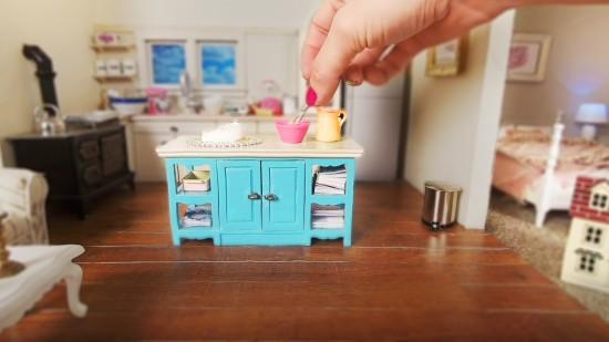 miniature kitchen tiny cooking