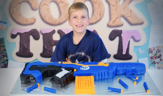 nerf gun cake how to cook that