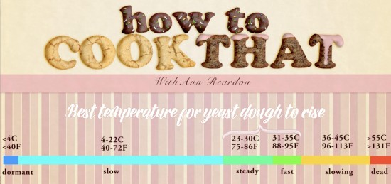 temperature for yeast dough to rise