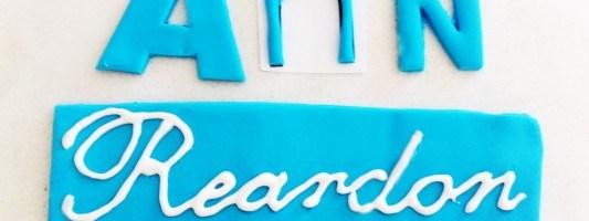 cake decorating lettering tutorial