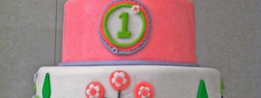 birdie birthday cake