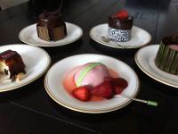 chocolate decorations for dessert