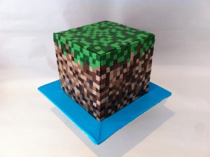 how to make a minecraft cake reardon