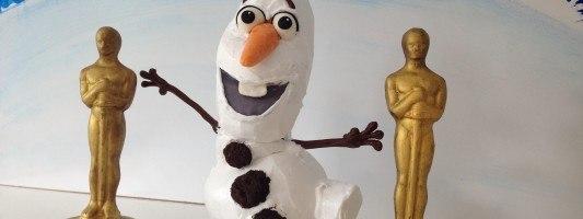 Olaf Cake Frozen Disney Movie