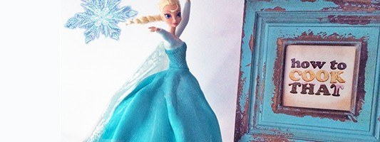 Frozen Elsa Cake