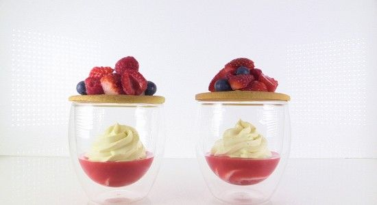 Elegant Fruit Dessert Recipe with video by Ann Reardon