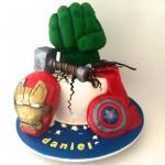marvel avengers cake designs