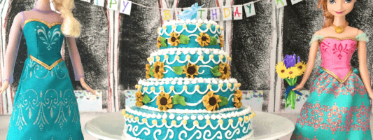frozen fever cake video how to cook that