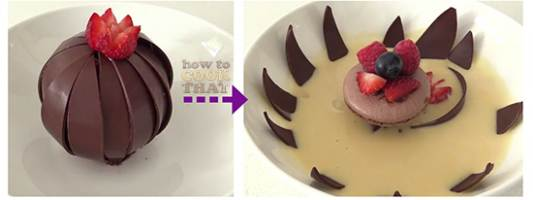 magic chocolate flower how to