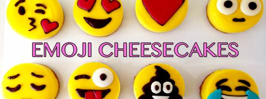 emoji cheesecake recipe ann reardon
