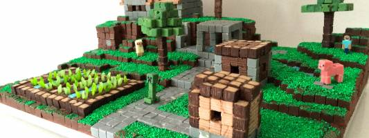 minecraft cake how to cook that
