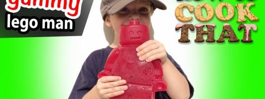 Giant Gummy Bear Recipe